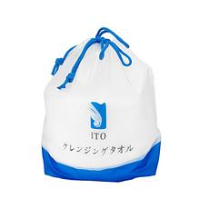 日本 ITO 一次性洗脸巾化妆卸妆珍珠纹棉 80片 国内发货
