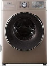 惠而浦(whirlpool)10公斤变频臭氧除菌WIFI全自动滚筒洗衣机WG-F100887BCIEP