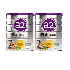 2罐装【新西兰】A2 白金版婴幼儿配方奶粉2段 900g(6-12个月)900g/罐 万博Manbetx官网仓发货