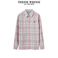 TEENIE WEENIE2020三个颜色格子衬衫粉色