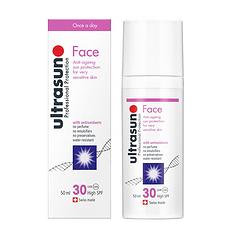 瑞士 UITRASUN优佳 脸部专用防晒乳SPF30 50ML 国内发货
