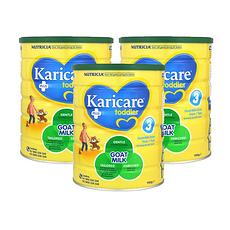 3罐装【新西兰】可瑞康Karicare羊奶粉3段(12个月以上) 900g/罐 (澳洲直邮)