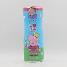 【中国】亿智小猪佩奇山楂饼干-瓶装 100g