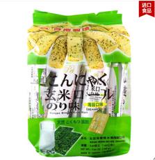 【台湾】北田 糙米卷海苔味 160g