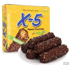 【韩国】三进X-5 香蕉牛奶巧克力棒(4支装)144g