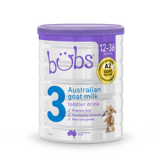 3罐裝【澳大利亞】貝兒 羊奶粉3段(12-36個月)800g 澳洲直郵