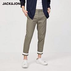 杰克琼斯2020夏季新款休闲纯棉锥形九分休闲裤