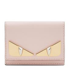 QH Fendi 芬迪 女士淡粉色小牛皮钱包 8M0395-3IF-F13DP