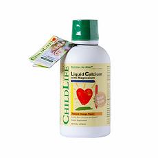 【美国】童年时光 Childlife 钙镁锌补充液 474ml 美国直邮