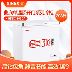 星星(XINGX)BD/BC-303GA系列家用小冰柜商用冷柜冰箱卧式全冷藏全冷冻柜顶开门雪柜 BD/BC-303GA