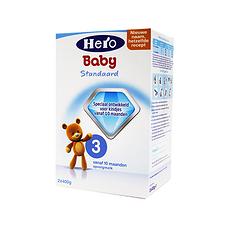 4盒【荷兰】Hero Baby美素 婴儿奶粉 3段 (10个月以上)800g (荷兰直邮)