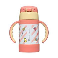 膳魔師 巧虎授權不銹鋼雙耳保溫杯280ml(粉色)