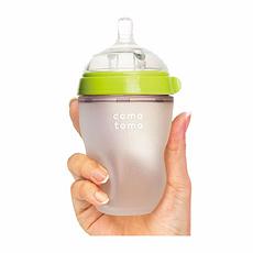 韓國 可么多么 硅膠奶瓶 綠色 250ml 香港直郵