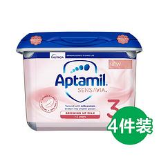 4罐 【英国】爱他美 粉金版 低敏适度水解奶粉 3段(1-2岁)800g 英国直邮