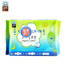 【韩国】恩芝 超值体验卫生巾套装(日用6P+夜用3P+迷你巾2P)