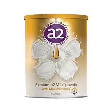 【新西蘭】A2 麥盧卡蜂蜜全脂牛奶粉 400g/罐 保稅倉發貨