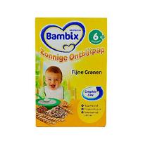 4盒【荷兰】牛栏 Bambix 成长营养标准米粉 原味 米糊辅食 (6个月以上)荷兰直邮