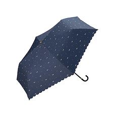 日本 WPC 蝴蝶結MINI防曬傘801-945 藍色