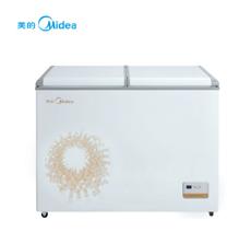 美的(Midea)221升卧式双温双室 冷藏冷冻分开 不串味 电脑控温 BCD-221VEM 旋律金