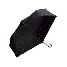 日本 WPC 蝴蝶结MINI防晒伞801-945 黑色