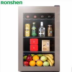 容声(Ronshen) 108升 冰吧 家用客厅保鲜柜 小型迷你饮料 茶叶酒柜 冷藏展示 JC-108YL
