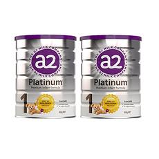 2罐裝【新西蘭】A2 白金版嬰幼兒配方奶粉1段 900g(0-6個月)900g/罐 保稅倉發貨