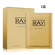 2件装 泰国 【泰版】RAY 金色修复痘印提拉紧致面膜10片 香港直邮