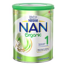 3罐装【瑞士】雀巢 有机奶粉1段(0-6个月) 800g/罐(澳洲直邮)