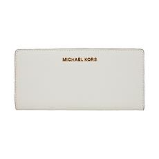 MichaelKors迈克·科尔斯 女士长款钱包钱夹 35S9GTVF8L OPTIC WHITE 美国直邮