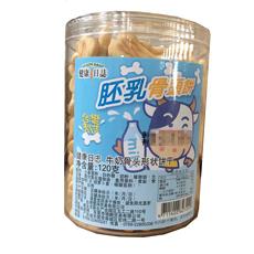 【台湾】三立 牛奶骨头饼干 120g