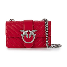 Pinko 品高 红色女士单肩包挎包 1P21K0-Y5V1-R60 香港直邮
