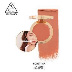 韓國 3CE 唇頰盤 #DIOTIMA 奶油杏 4.2G 香港直郵