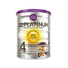 【新西兰】A2 白金版婴幼儿配方奶粉 4段(3岁以上) 900g (万博Manbetx官网仓发货)