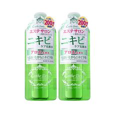 2瓶装[日本]伊诗露Esthe Dew 芦荟祛痘控油爽肤水化妆水 500ml