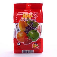 【马来西亚】一百份什果果汁软糖150g