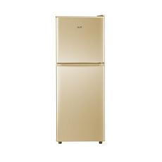 星星(XINGX)双门节能省电冰箱节能保鲜冷藏冷冻静音家用小型电冰箱静音两门电冰箱BCD-116A 双门116升金色