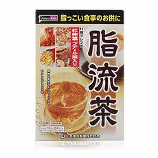 【日本】山本汉方 脂流茶 24包 香港直邮