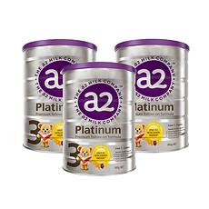 3罐装【新西兰】A2 白金版婴幼儿配方奶粉3段 900g(1岁以上)900g/罐 (澳洲直邮)