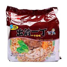 【香港】出前一丁 五香牛肉味方便面 100g*5袋