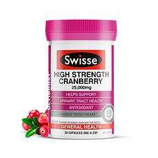 【澳大利亚】Swisse 蔓越莓胶囊 30粒 万博Manbetx官网仓发货
