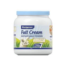 【澳大利亞】美可卓 Maxigenes藍胖子全脂奶粉 1kg(保稅倉發貨)