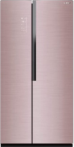 容声(Ronshen)532升玻璃无霜对开门冰箱 双门双温区 独立控温 BCD-532WRS2HYC-TL51
