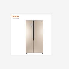 奥马(Homa) BCD-455WKGM 455升 风冷无霜 电脑温控双开门(凡尔赛金)