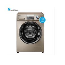 小天鹅(LittleSwan) 10公斤滚筒洗衣机全自动简自洁水魔方 洗烘一体 BLDC变频无刷电机 TD100Q16MDG5