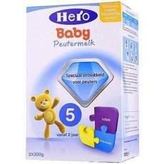 2盒【荷兰】Hero Baby 美素 婴儿奶粉5段(2岁以上) 700g (荷兰直邮)