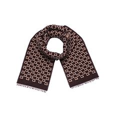 GUCCI 古馳 女士棕色時尚圍巾 501265-4G350-2179