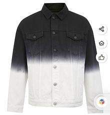 杰克琼斯2020春夏新款个性渐变牛仔外套