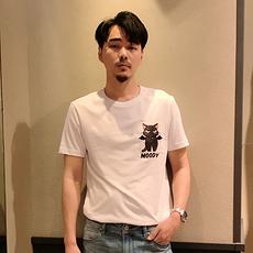 杰克琼斯 2020春夏新款精致刺绣图案纯棉T恤