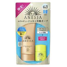 [日本] ANESSA安热沙 小金管防晒露90ml 面部专用(赠美肌BB7.5ml)香港直邮