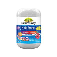 【澳大利亚】佳思敏 婴幼儿童DHA护眼深海鱼油软胶囊 180粒/瓶 (香港直邮)